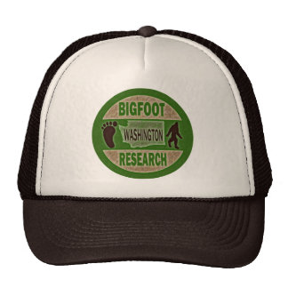 Washington Bigfoot Research Cap