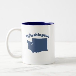 WASHINGTON Blue State Two-Tone Mug