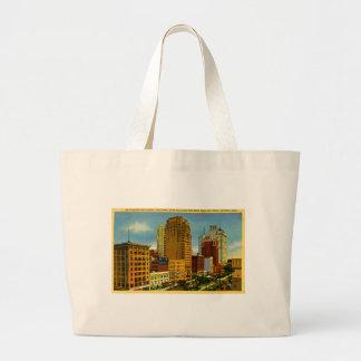 Washington Boulevard, Detroit, Michigan Canvas Bag
