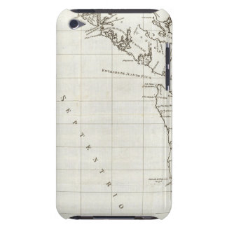 Washington, British Columbia, Vancouver map Barely There iPod Cases