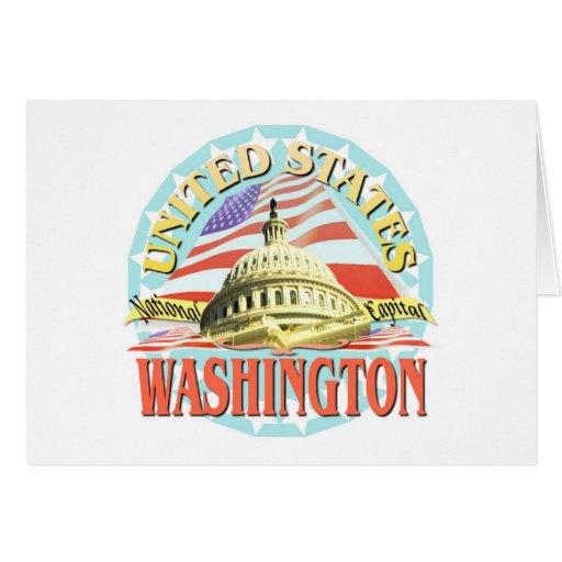 Washington Greeting Card