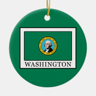 Washington Christmas Ornament