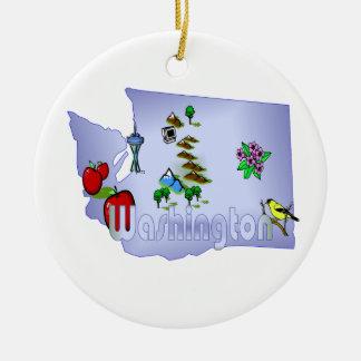 Washington Christmas Tree Ornament