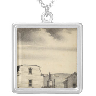 Washington College, Calif Silver Plated Necklace