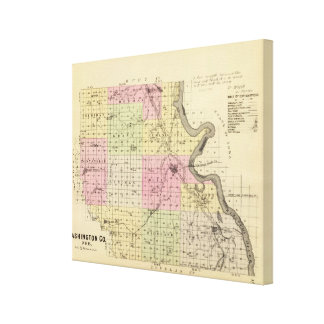 Washington County, Nebraska Canvas Print