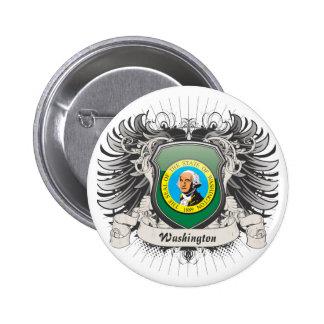 Washington Crest 6 Cm Round Badge