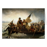 Washington Crossing the Delaware - 1851 Note Card