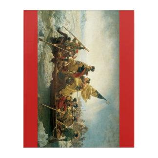 WASHINGTON CROSSING THE DELAWARE ACRYLIC WALL ART