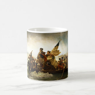 Washington Crossing the Delaware by Emanuel Leutze Coffee Mug