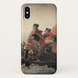 Washington Crossing the Delaware by Emanuel Leutze iPhone X Case