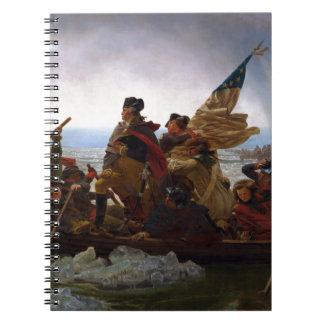 Washington Crossing the Delaware by Emanuel Leutze Notebook