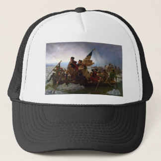 Washington Crossing the Delaware by Emanuel Leutze Trucker Hat