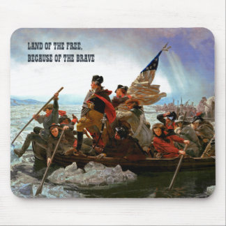 Washington Crossing the Delaware Fine Art Mousepad