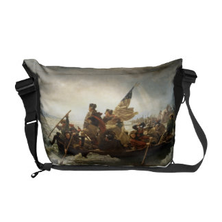 Washington Crossing the Delaware - Leutze (1851) Messenger Bag