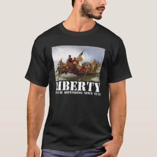 Washington Crossing the Delaware Liberty T-Shirt