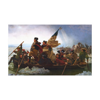 Washington Crossing The Delaware River Canvas Print