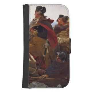 Washington Crossing the Delaware River Samsung S4 Wallet Case