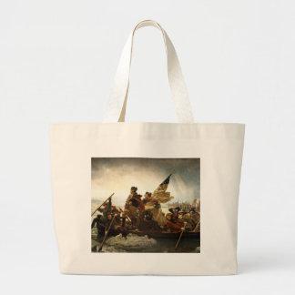Washington Crossing the Delaware Jumbo Tote Bag