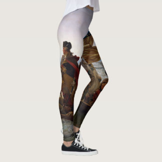 Washington Crossing the Delaware USA Leggings