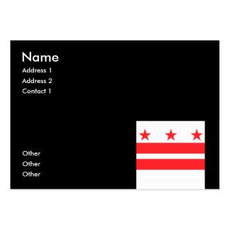 WASHINGTON D.C. BUSINESS CARD TEMPLATE