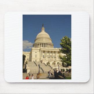 Washington D C Capitol Building Mouse Pad