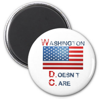 Washington D.C. (Doesn't Care)  products 6 Cm Round Magnet