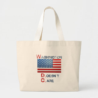 Washington D.C. (Doesn't Care)  products Canvas Bag