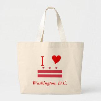 Washington D.C. Flag Bags