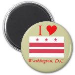 Washington D.C. Flag Magnet