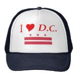 Washington D.C. Flag Mesh Hats