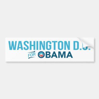 Washington D.C. For Barack Obama Biden Bumper Bumper Sticker