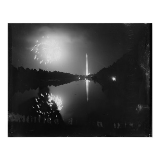 Washington D.C.; July 5th, 1939, Fireworks Poster
