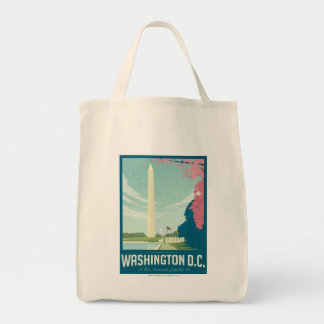 Washington, D.C. - Our Nation's Capital Grocery Tote Bag