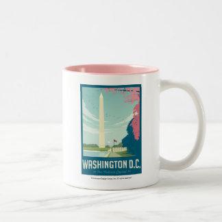 Washington, D.C. - Our Nation's Capital Two-Tone Coffee Mug