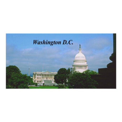 Washington D.C. Photo Card Template