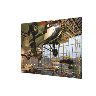WASHINGTON, D.C. USA. Aircraft displayed in Canvas Print