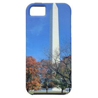 WASHINGTON, D.C. USA. Washington Monument rises iPhone 5 Case