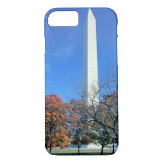 WASHINGTON, D.C. USA. Washington Monument rises iPhone 8/7 Case