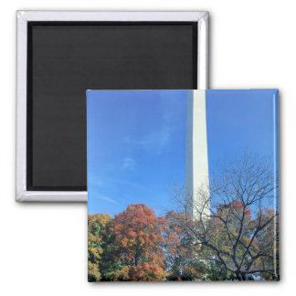 WASHINGTON, D.C. USA. Washington Monument rises Magnet