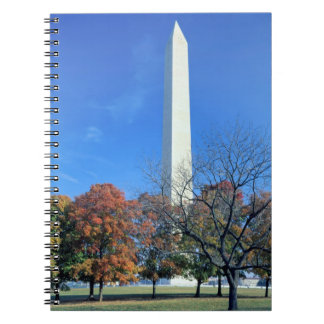 WASHINGTON, D.C. USA. Washington Monument rises Note Book