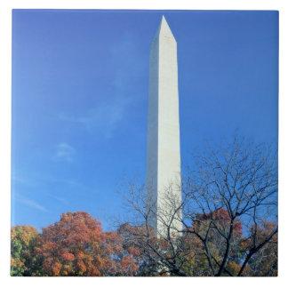 WASHINGTON, D.C. USA. Washington Monument rises Ceramic Tile