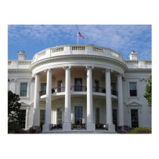 Washington D.C. White House Postcard