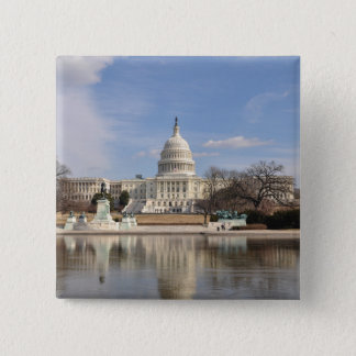 Washington DC 15 Cm Square Badge