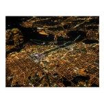 Washington DC Aerial Night Postcard