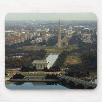 Washington DC Aerial Photograph Mouse Pad