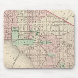 Washington DC and Georgetown Mouse Mat
