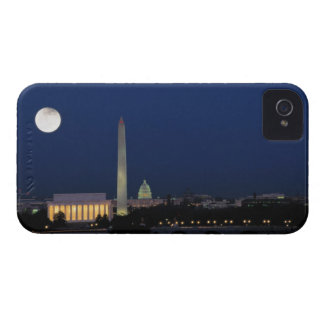 Washington DC at Night iPhone 4 Covers