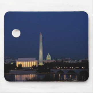 Washington DC at Night Mouse Mat