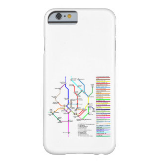 Washington DC Bike Map Smartphone Case
