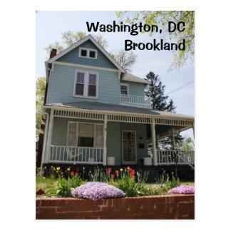 Washington, DC:  Brookland Postcard